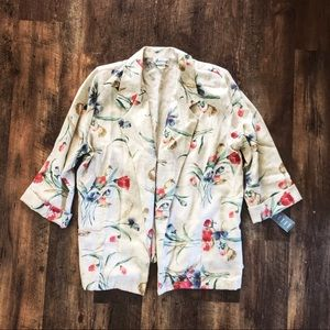 🌸 Vintage Bohemian Summer Blazer